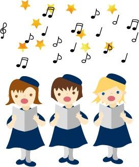 柏ダンススタジオのゴスペルを歌っている子供