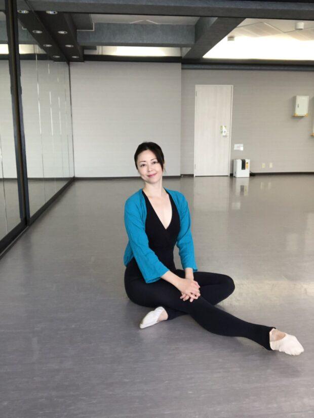 千春バレエ教室講師 遠藤千春