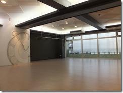 柏貸しスタジオのスタジオ内画像 床 天井